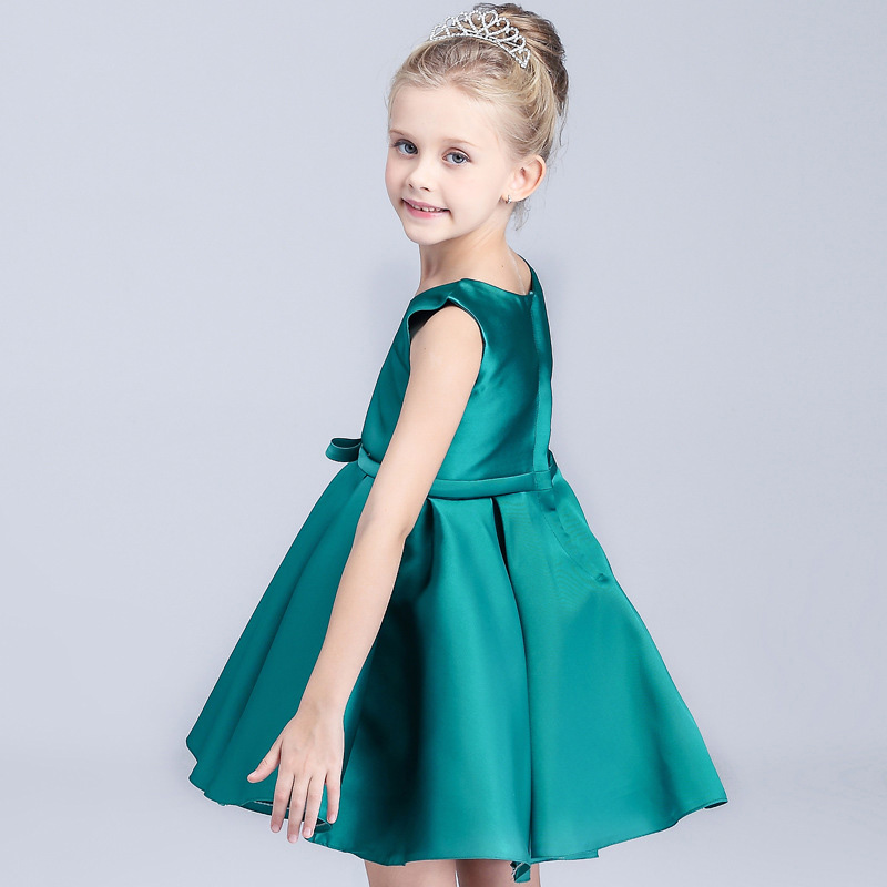 Royal Blue Girl Party Dress  Girdle Costume European Style Kids Clothes Girls Fancy Infant Girl Dresses Teenage Girl Clothing<br><br>Aliexpress