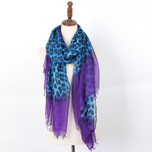 Staiwalks Women 90*180cm Newest Scarf With Leopard Print Shawls 2 Colors Polyester Fashion Style Good Quality Free Shipping