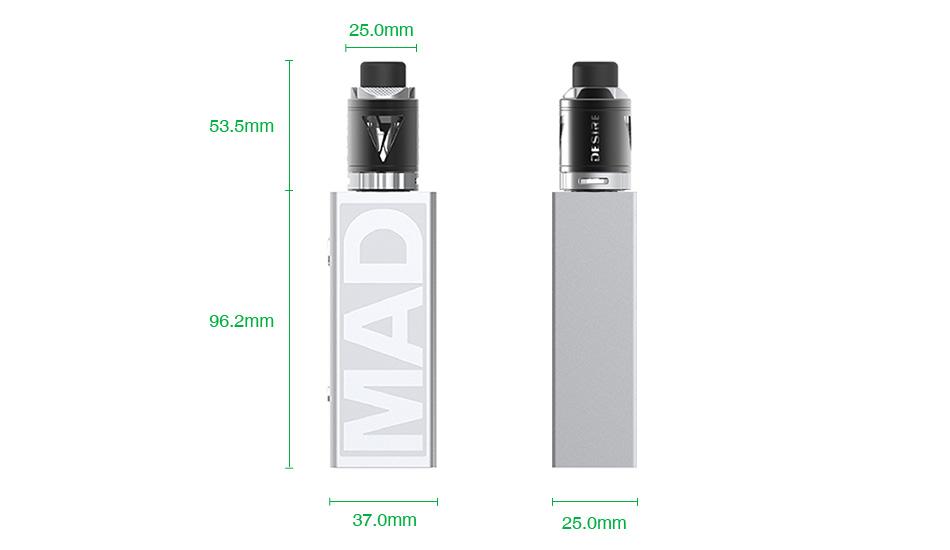 Desire Mad Mod 108W TC Kit with M-Tank