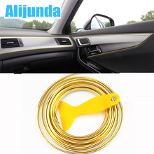 5 m Car Grille Inner Outer Profiles Trim Decorative Ribbon Line for Suzuki SX4 SWIFT Alto Liane Grand Vitara Jimny S-Cross