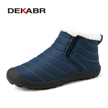 DEKABR Brand Winter Warm Woman Shoes Woman 방수 Short 봉 제 면 화 몇 Style Non-slip Boots Size 35 ~ 46(China)