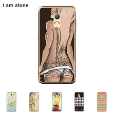 "Soft TPU Silicone Case For ZTE Blade V7 Lite 5.0"" Cellphone Cover Mobile Phone Protective Skin Mask Color Paint Shipping Free"