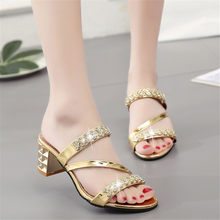 designer slides women 2018 glitter shoes high heels slippers for woman  mules high heels loafers cute slippers bee shoes brand gg a3febbfeca7b