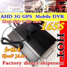 And on abundant AHD4-way hard disk automotive air head/BNC/AV interface car video recorder for 3 g GPS remote CMSV6 mdvr