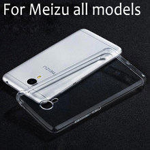 for Meizu M3 note case U20 U10 M3S MX6 MX4 Pro 6 M2 M5 M1 note M2 note cover transparent clear soft TPU good flexible