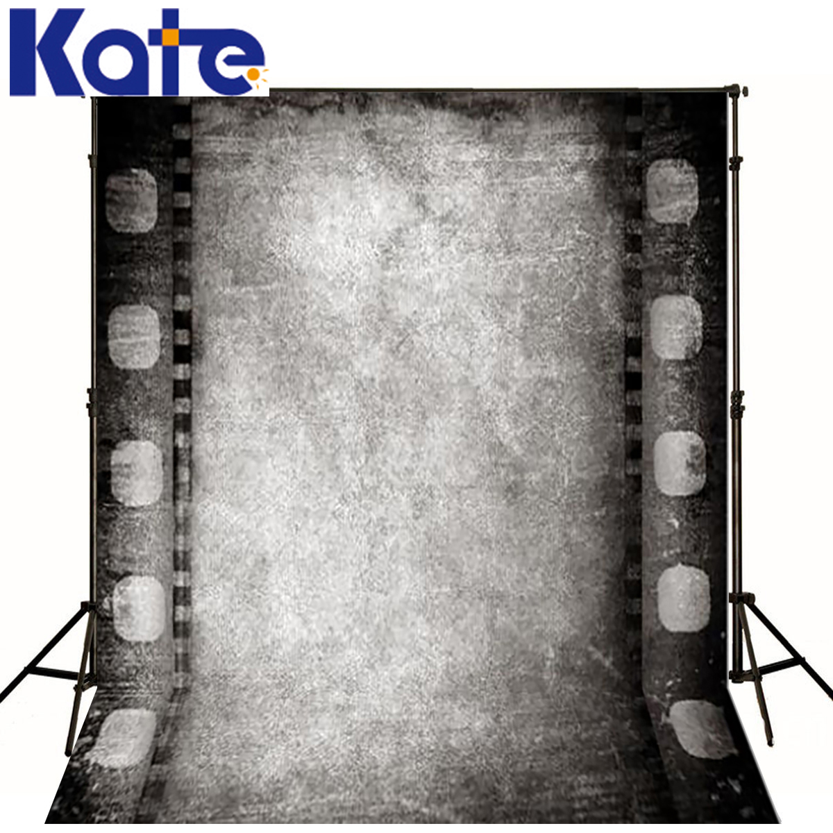 KATE Photo Background Wedding Backdrops Solid Gray Film Backdrop Vintage Backgrounds for Photo Studio Photocall for Weddings<br>