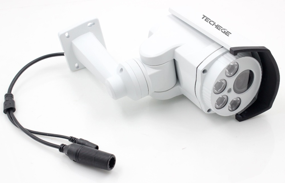 Techege-4x-Optical-Zoom-Auto-SONY-HI3516C-IMX322-HD-1080p-Bullet-2-0MP-IP-Camera-PTZ
