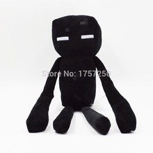 1pcs Black Minecraft Enderman Plush Toy 26cm Minecraft Even Cooly Creeper JJ Plush Toys Doll Soft Stuffed Toys for Kids Gift