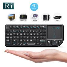 2.4G Mini Wireless Keyboard Touchpad Air Fly Mouse Remote with Laser Pointers Somatic handle Gyroscope For smart tv