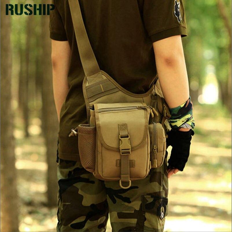 Unisex Tactics Waterproof Military Camouflage Trekking Travel Bags Shoulder Bags Multifunctional Camera Saddle Bag <br>