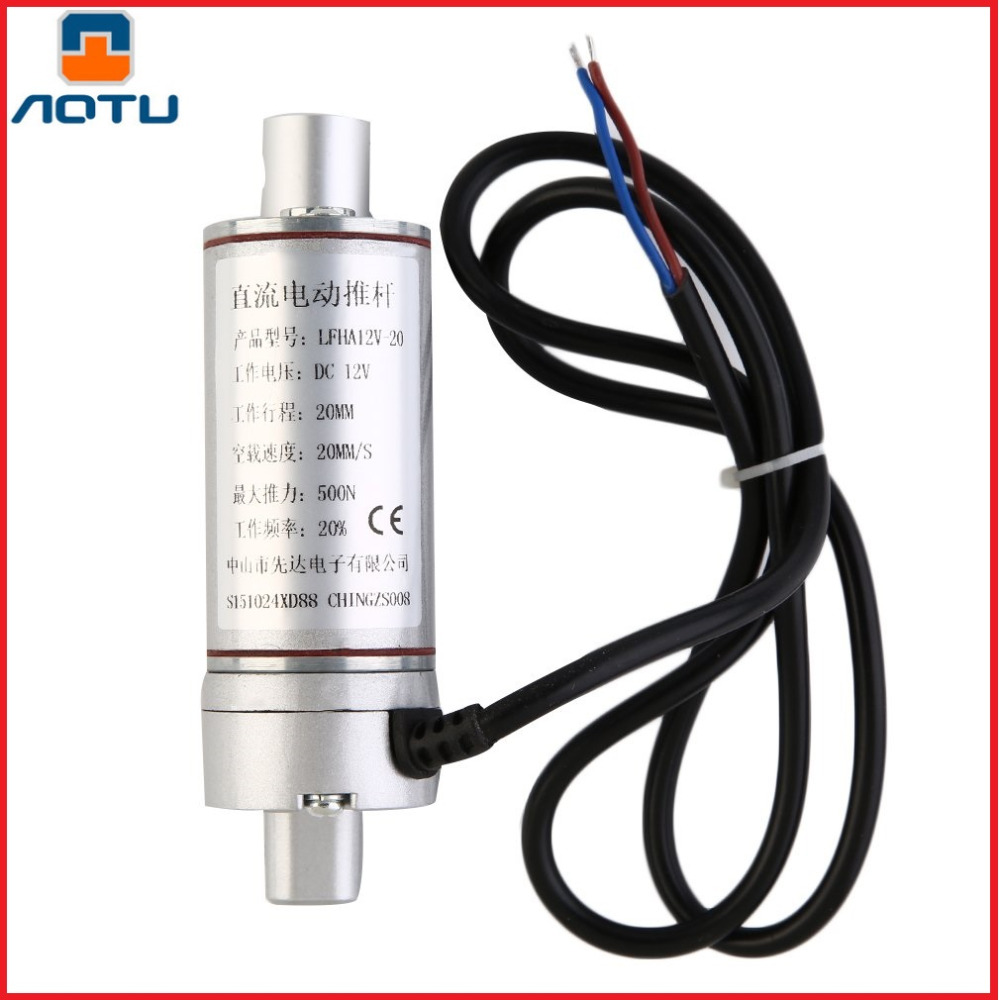 AOTU Multi-function Linear Actuator Motor direct-current 12V 100mm Stroke Heavy Duty 500N sunroof Sofa Chair Accessories<br>