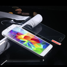 500pcs per lot 0.3mm Tempered Glass for Samsung Galaxy S5 Mini 9H 2.5d Round Border Anti Explosion Finger Print Film