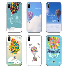 Soft Transparent Covers Adventure Up Pixar Animation Movie Quote For Samsung Galaxy Note 8 9 S9 S10 A8 A9 Star Lite Plus A6S A9S(China)