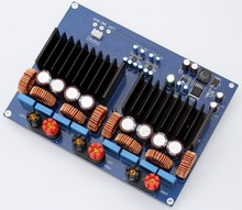 1200w TAS5630 + OPA1632DR 2.0 channel Class D Digital Amplifier board 330UF/100V*4(China)