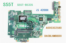 FOR Toshiba Satellite S55T-B5335 S55T S55T-B Laptop Motherboard A000302580 i5 4200H DA0BLNMB8D0 Tested 100% perfect work