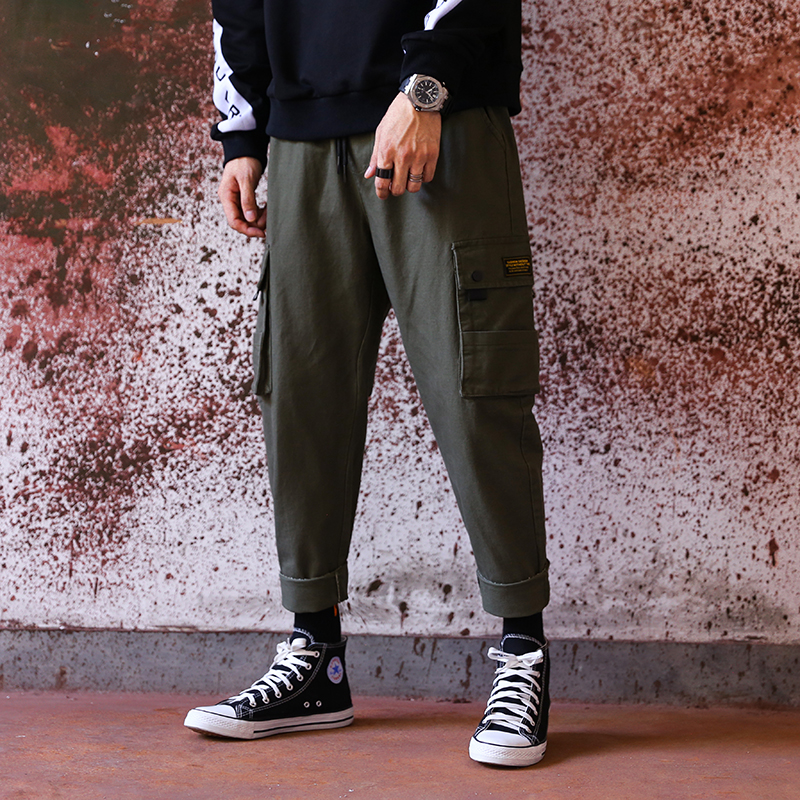 Vomint New Men Fashion Military Cargo Army Pants Slim Regualr Straight Fit Cotton Multi Color Camouflage A809