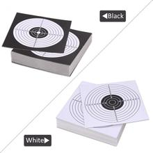 100Pcs/Lot 14*14cm Archery Target Training Paper Face for Arrow Bow Shooting Hunting Practice Paper Archery Accessories(China)