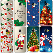 for Samsung Galaxy J2 J3 J5 J7 A3 A5 2015 2016 2017 S5 S6 S7 Edge S8 Plus Grand Prime Christmas Santa Claus Cover for Galaxy S8