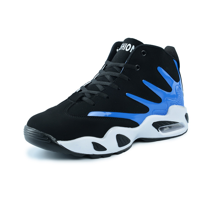 Basketball Shoes Woman Men 2018 High Top Outdoor Sport Shoes Basket Breathable Air Cushion Couples Sneakers <br>