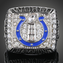 New Sale American Football Sports Souvenirs 2007 Indianapolis Colts Replica Super Bowl Rings for men J02044(China)