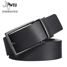 [DWTS] 2016 Brand Designer Belts Men High Quality Two sided use Cowhide Fashion Leather Buckle Men Belt Luxury Bussiness Casual