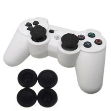10PCS Rubber Silicone Cap Thumbstick Cover Case Skin Joystick Grips For PS4 for PS3 for Xbox 360 for XboxOne Controller #Jan4