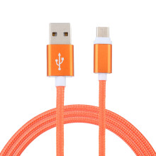 3M Colorful Fast Charge Cable Cell Phone Cable Nylon Braided USB-C USB 3.1 Type C Data Charge Charging Cable For Android#25