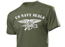 2017 Summer Hot Sale Cotton Printed Tee Shirt Men T-Shirt Us Army Navy Seals With Anchor & Eagle Usmc Marines WWII shirt Design