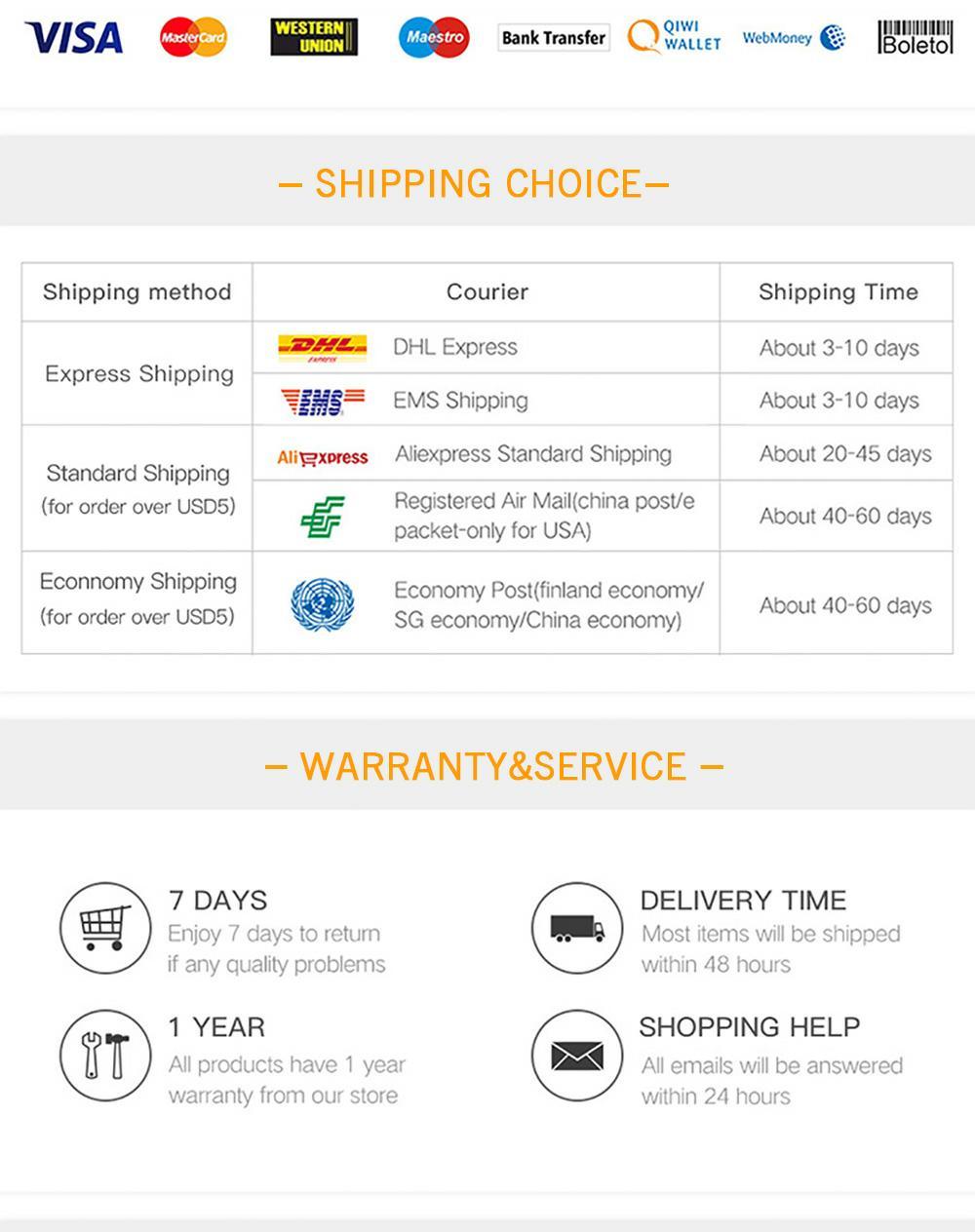 Shipping Choice _