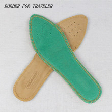 Sheepskin Absorb Sweat Whole Insoles Women Men Shoes Pad Absorb Shock Quick Dry Sports Inosles(China)