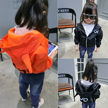 Children's clothing 2017 spring and autumn personality boy and girl baby wide shoulder batwing sleeve jacket outdoor jacket