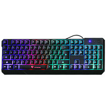 Original MotoSpeed K70 7-Color Colorful Backlight Conputer Gaming Keyboard Teclado USB Powered for Desktop Laptop