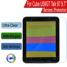 "5x Nano Soft Explosion-proof Protective Film For Cube U59GT Talk 97 9.7"" Screen Protector (Not Tempered Glass)(China)"