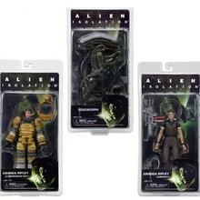 3styles Movie Alien Isolation Series Amanda Ripley Jumpsuit Xenomorph Compression Suit cool PVC action figure model toy 7""