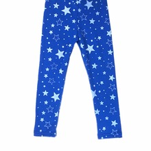 Baby Winter Children Toddler Girls Slim Legging Star Pattern Stretchy Pants 2-7Y(China)