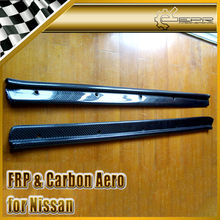 EPR Car Styling 2pcs Door Sill Panel Kick Panel For Nissan Skyline R32 GTR GTS Carbon Fiber Car Accessories