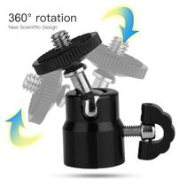 360 degree Rotation Mini Ball Head Ballhead 1/4 Screw Mount Stand for DSLR Camera Camcorder