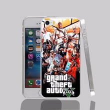12737 Grand Theft Auto GTA 5 GTA V Cover cell phone Case for iPhone 4 4S 5 5S 5C SE 6 6S Plus 6SPlus