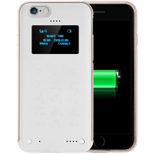 SOYES P6 1.3 inch OLED Screen Back Cover Mobile Touch Keypad Cell Phone Also Power Bank / Back Cover for iPhone 6 / 6S