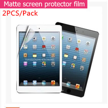 2PC/ Pack Good front matte protective film for 2017 ipad air 1 2 pro 9.7 screen protector anti glare guard check online(China)