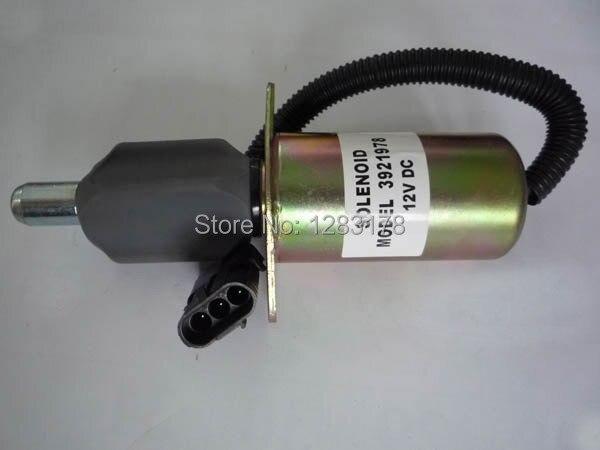 Fuel Shutdown Solenoid Valve 3921980, 3918601 24V<br>