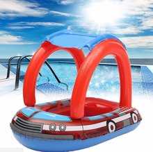 Baby Swimming Accessories Inflatable Pool Ring Child laps Swim Seat Float Boat Water Sport(China)