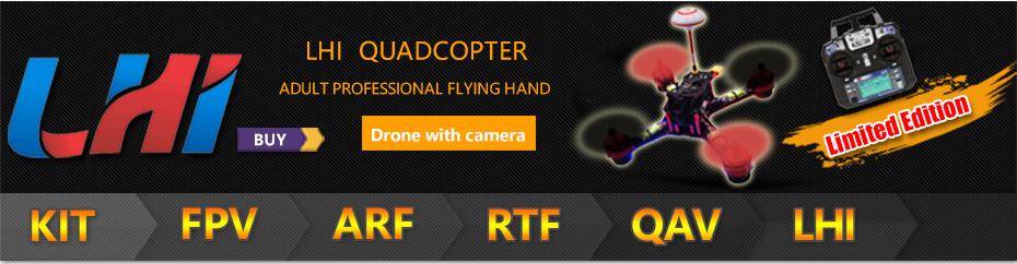 LHI Cool NEW Quadcopter GX210 F3 RC dron spy Fpv drone with Camera professional 700TVL helicopter 40CH VTX mini quadrocopter kit