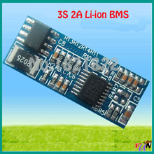 3S 2A lipo lithium Polymer BMS/PCM/PCB battery protection circuit board for 3 Packs 18650 Li-ion Battery Cell w/ free shipping(China)