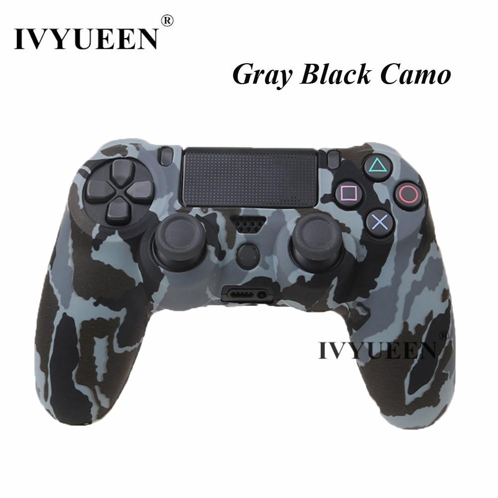 J gray black camo