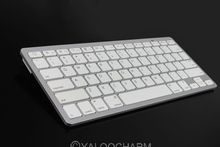 Hot New 1pc Wireless Bluetooth White Keyboard Slim for Apple Windows System iPad Laptop PC 80423