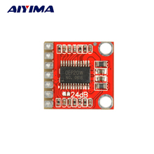Aiyima DC 6V-18V Mini 20W Mono Class D Audio Power Amplifier Board Differential Input For DIY(China)
