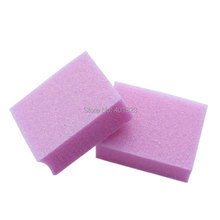 mini nail files buffer block pink sanding nail tools pedicure file 100pcs/lot emey board for nails art manicure accessories