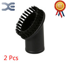 2Pcs Universal Vacuum Cleaner Accessories Suction Oval Brush Sand Suction Suction Interface 32mm Small Brush Head
