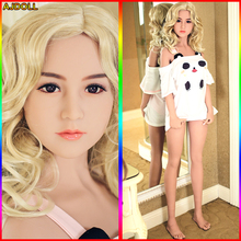 145cm Real Silicone Sex Dolls Robot Japanese Realistic Sexy Doll Big Breast Love Doll Oral Vagina Adult Full Life Toys for Men(China)